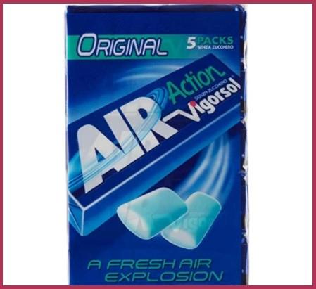 Chewing gum vigorsol