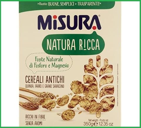 Cereali integrali misura