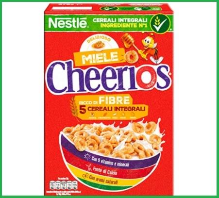 Cereali per bambini integrali con miele