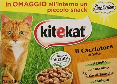 Cibi in scatola per gatti