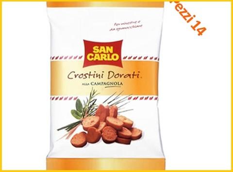 Crostini San Carlo Dorati