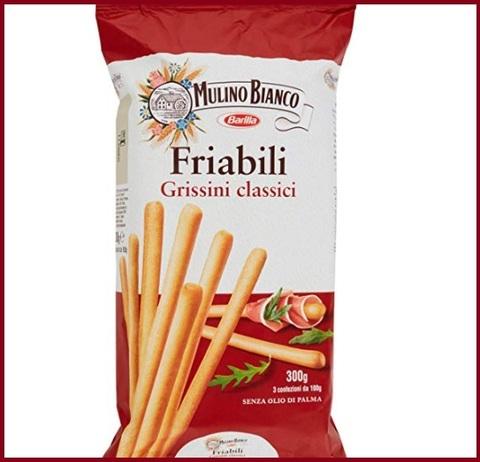 Grissini mulino bianco snack salato