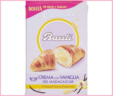 Croissant bauli colazione