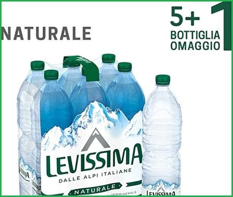 Acqua levissima 1,5 litri