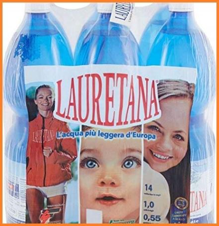 Acqua minerale naturale lauretana