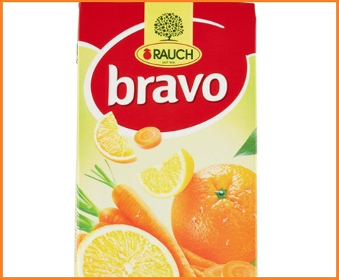 Succo di frutta bravo