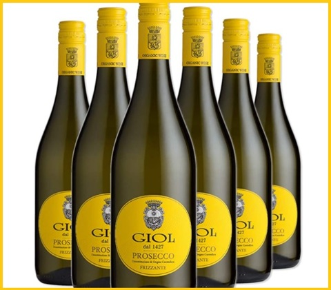 Vino bianco 6 bottiglie frizzante