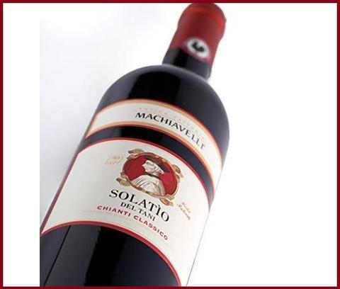 Vino rosso chianti