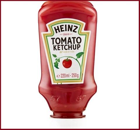 Salsa ketchup heinz
