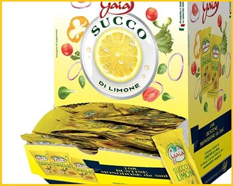 Succo di limone monodose