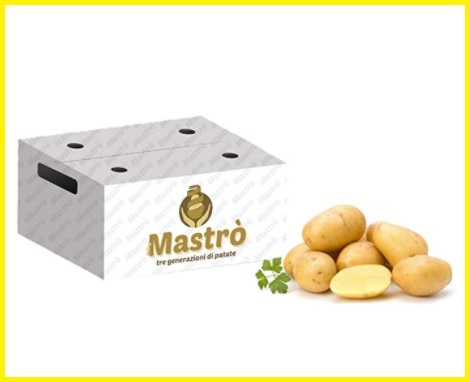 Patate fresche pasta gialla