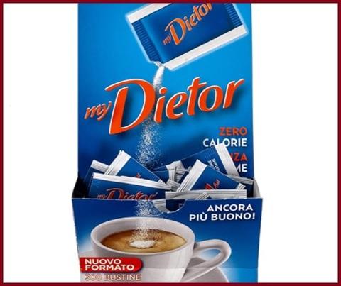 Dolcificante dietor zero calorie