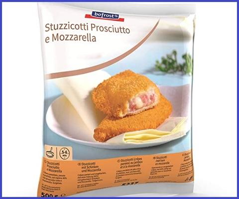 Snack surgelati panzerotti
