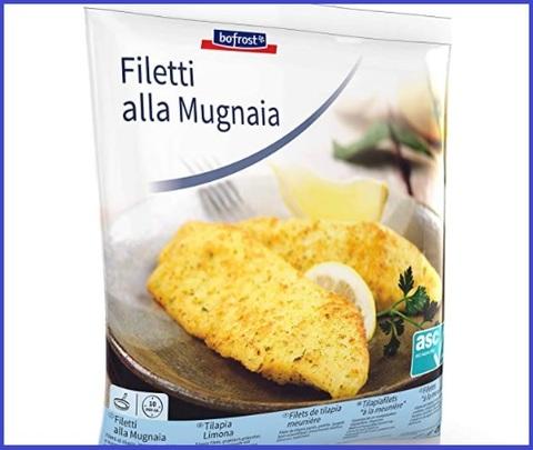 Pesce surgelato filetti