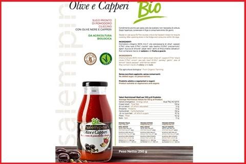 Sugo olive e capperi bio
