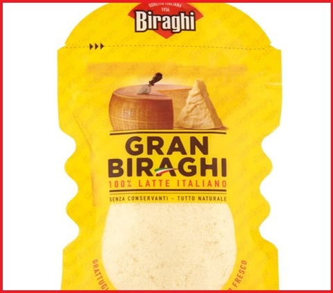 Grana biraghi grattugiato
