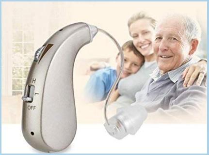 Amplificatori acustici anziani