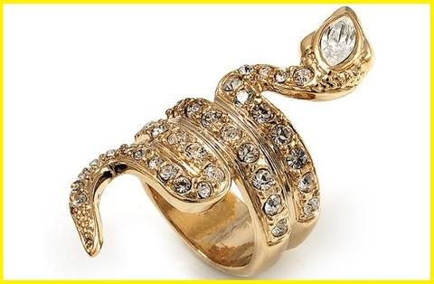 Anelli serpente donna oro