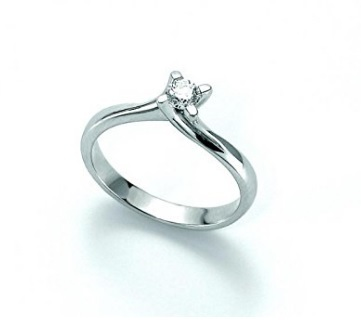 Anello Solitario Miluna Con Diamante
