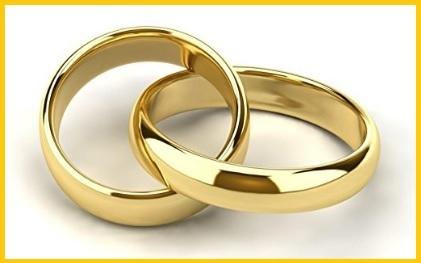 Anelli fidanzamento coppia oro