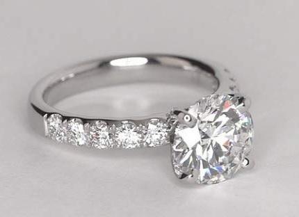 Anelli Oro Bianco E Diamanti