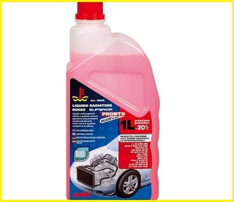 Antigelo diesel rosso