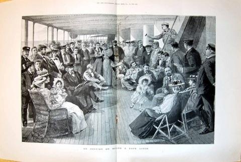 Quadro 1896 d'antiquariato oggetto di stampa