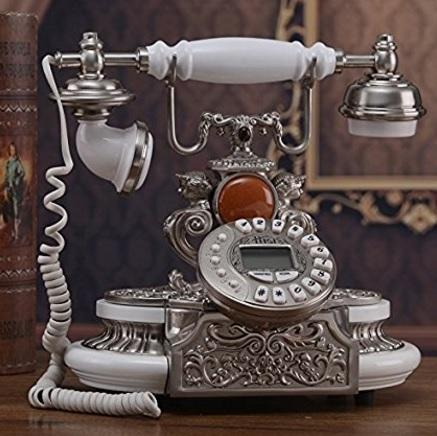 Telefono vintage retrò design classico da tavolo