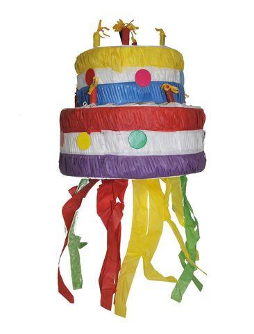 Pignatta a tema torta di compleanno