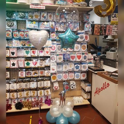 Decorazione di palloncini per 1 anno