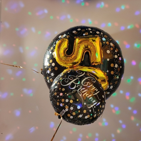 Decorazione di palloncini happy birthday per festa 50 anni | Grandi Sconti | Apollo -  Il tuo dream shop a Lugano