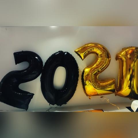 Palloncini per festa dell'anno nuovo