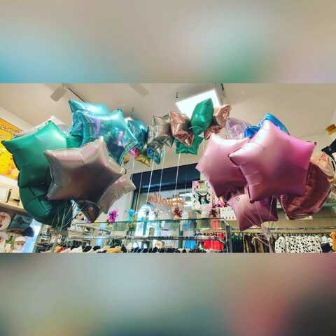Decorazione di palloncini con stelle colorate | Grandi Sconti | Apollo -  Il tuo dream shop a Lugano