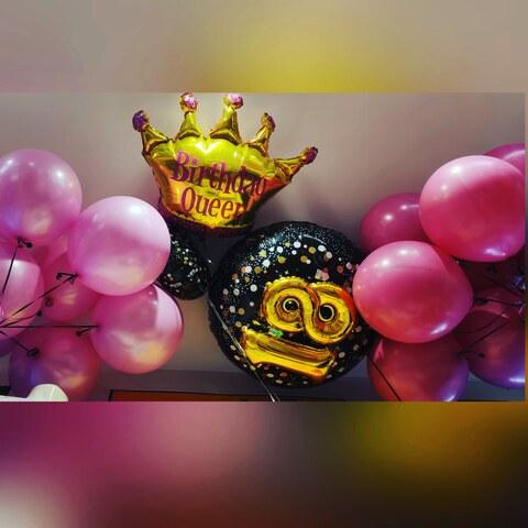 Decorazione di palloncini per compleanno 18 anni