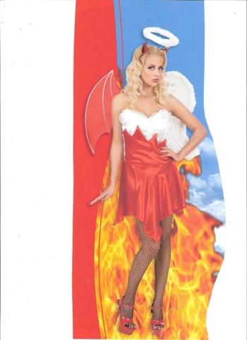 Vestito di carnevale angel&demon