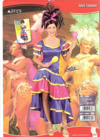 Costume Di Carnevale Ballerina Samba