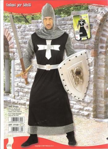 Vestito di carnevale cavaliere medioevale