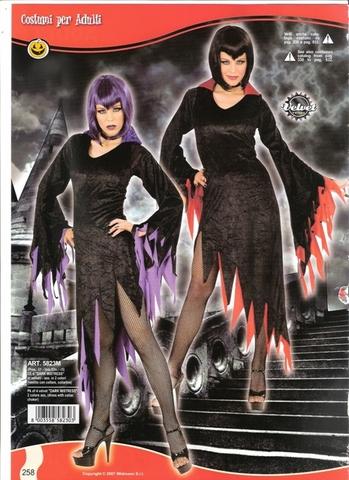 Costume di carnevale dark mistress