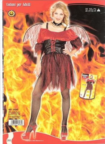 Vestito di carnevale diavolessa