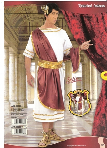 Vestito di carnevale giulio cesare