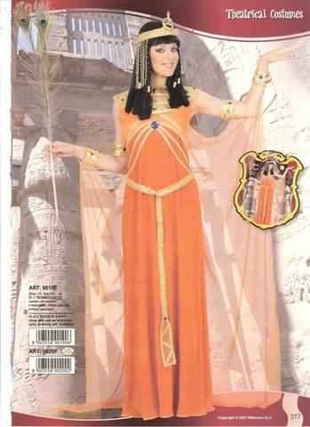 Costume di carnevale regina egiziana