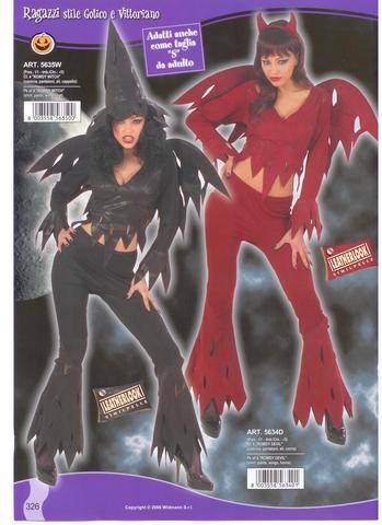 Vestiti di halloween strega sexy e diavolessa sexy