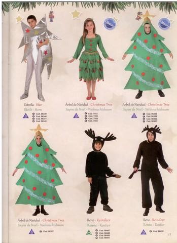 Vestito albero di natale