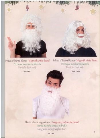 Barba e parrucca di natale