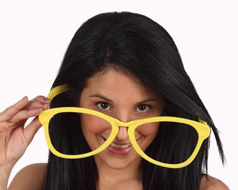 Accessori di carnevale occhiali giganti