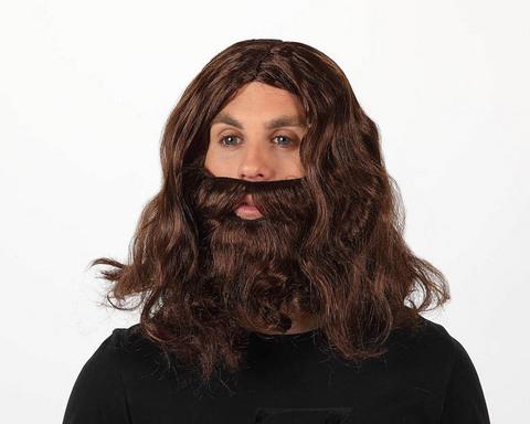 Parrucca e barba di natale ramagio e giuseppe