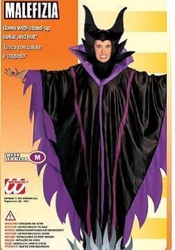 Vestito di carnevale malefizia maleficent