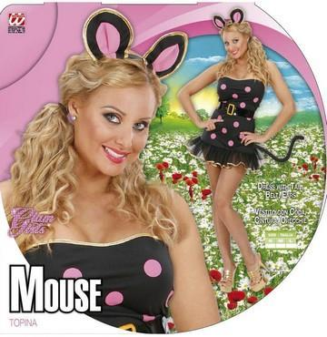 Vestito di carnevale topolina