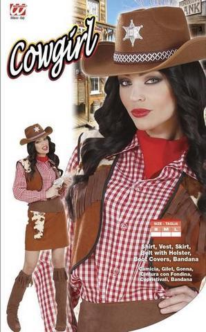 Vestito di carnevale cow-girl