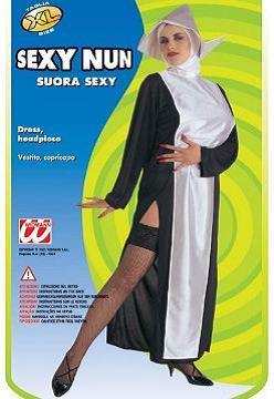 Vestito di carnevale suora sexy